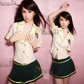 Sexy Uniform adulto traje roleplay Lingerie menina da escola Lingerie Sexy Lingerie Babydoll doce estudante japonês Lingerie uniforme