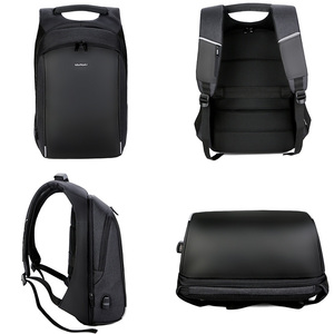 Image 3 - Business mannen Rugzak USB Opladen Anti Diefstal 15.6 Inch Laptop Rugzak Mannelijke Grote Capaciteit College Schooltassen Reizen bagpack