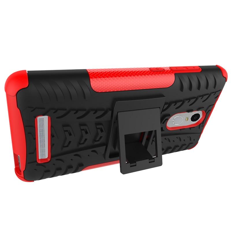 För Xiaomi Redmi Note3 Väskor Robust gummi Heavy Duty Armor Stand - Reservdelar och tillbehör för mobiltelefoner - Foto 3