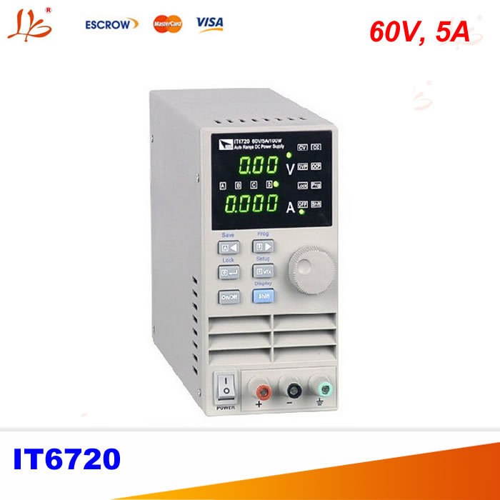 IT6720 Programmable DC power supply 60V 5A Lab Grade it6720 programmable dc power supply 60v 5a lab grade