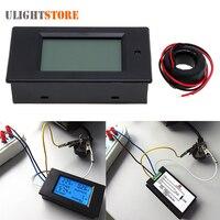 6 In 1 100A 80 260V AC LCD Digital Display Power Monitor Meter Voltmeter Ammeter Volt