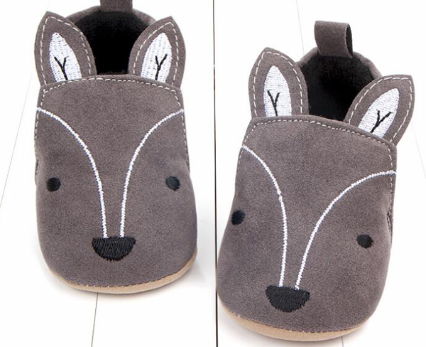 Baby Boots Newborn Boys Infant Shoes Prewalkers Crib Shoes Ankle Boot Faux Fur Fox Baby Elephant 2019 Winter SandQ New Cute Shoe