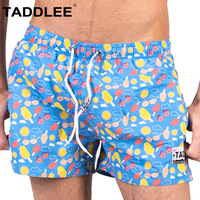 Taddlee Brand Swimwear Men Swimsuits Boardshorts Sexy Short Beach Board Surf Trunks Boxer Quick Dry Long Swimming Shorts 2019