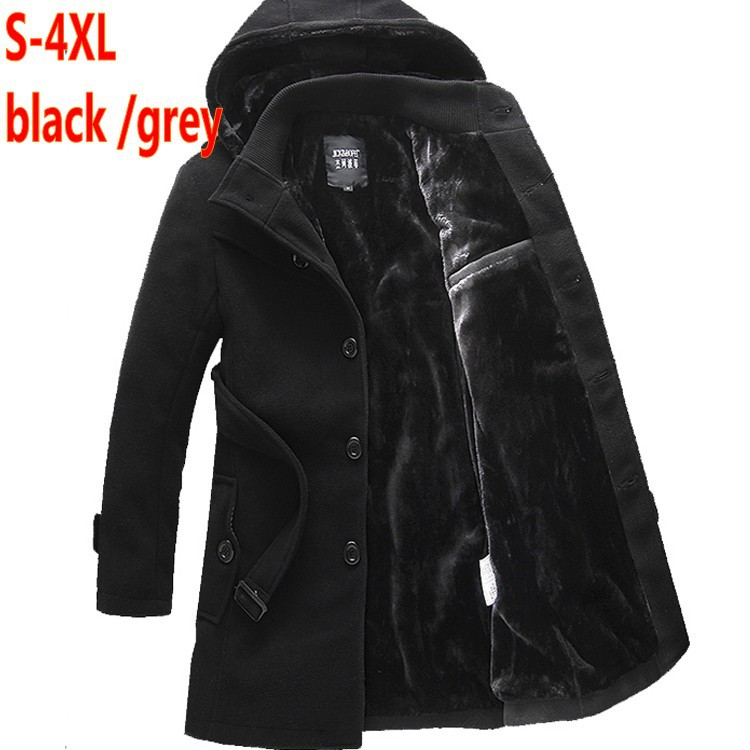 Free shipping Big Size XXXL 4XL Cotton warm outwear Coats ackets Men Winter hood parkas blazer