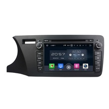 Octa Core 2 din 8″ Android 6.0 Car Radio DVD GPS for Honda City Left 2014 2015 With 2GB RAM Bluetooth 32GB ROM USB Mirror-link