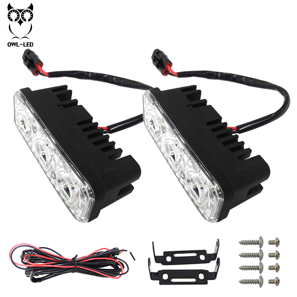 Offroad LED Work Light Bar Flood Beam for 12v Truck SUV 4WD 4X4 DRL ATV Auto Car Led Driving Fog Lamp