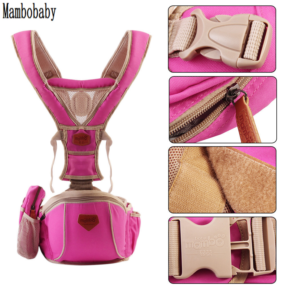 MAMNOBABY Baby Carrier Ergonomic Infant Kangaroo Ergonimic Design Baby Carrier Sling Backpack Waist Seat Hipseat New arrival  недорого
