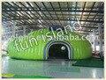 Tienda inflable gigante para la exposición, inflable reunión carpa, carpa iglú hinchable