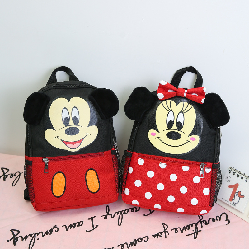 Children's Bag, Kindergarten Baby Cute Little Book Bag, Boy And Girl Cartoon Backpack Child Shoulder Bag