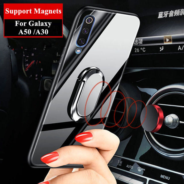 Galaxy A50 Magnet Ring Cover Case 2