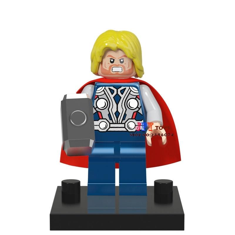 50pcs superhero Thor Ragnarok building blocks bricks friends for girl boy kids children toys brinquedos menina