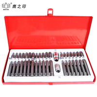 40Pcs/Set Wrench Sockets Screwdriver Bits Set Power Tools Accessories Kit Household Auto Repair Set 93102