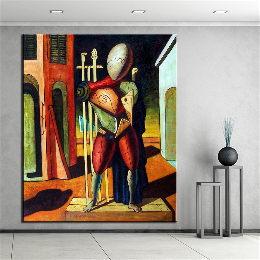 no frame printed 3d cubic abstract oil painting canvas prints wall painting for living room. Black Bedroom Furniture Sets. Home Design Ideas
