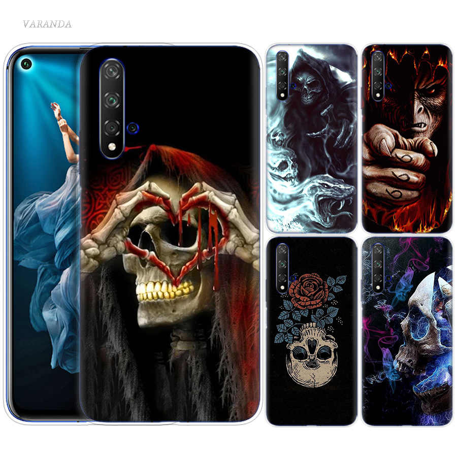 Devil You Next Case for Huawei Honor 8X 8C 8 9 10 20 Play 8A lite Pro V20 Y9 Y7 Y6 Y5 Prime 2018 2019 Silicone Skull Phone Bags