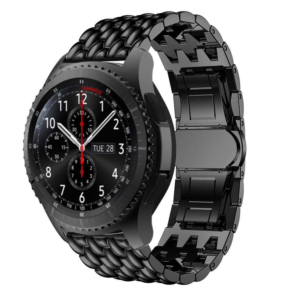 watch band For Samsung Gear S3 Frontier/Classic smart Watchstrap Stainless Steel 22MM watchband for Galaxy Watch 46mm Accessorie Pakistan