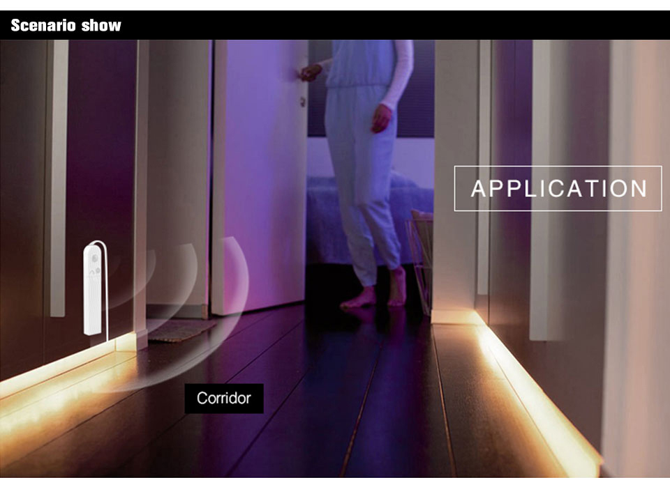 EeeToo PIR LED Night Lights Luminaire With Motion Sensor Lighting USB Led Light Induction Illumination Children's Bedside Lamp (7)