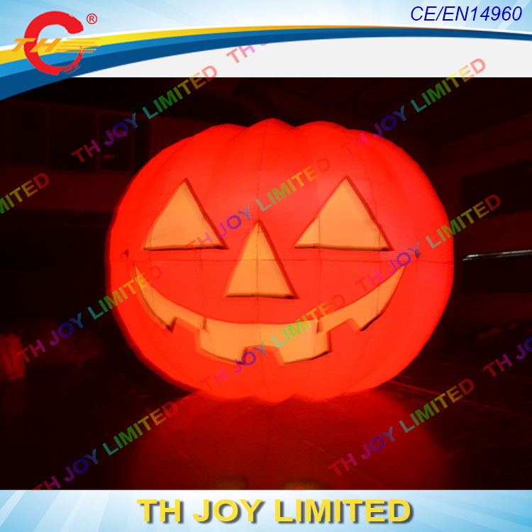 free shipping 2m65ft inflatable led halloween pumpkininflatable jack o lantern halloween