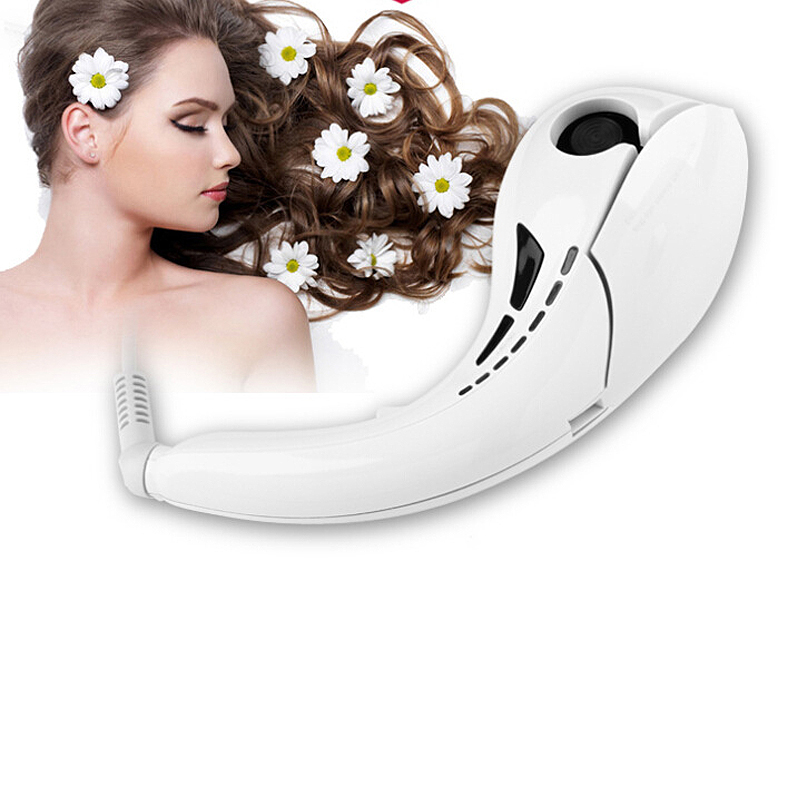 ФОТО Professional Ceramic Hair Curler Spiral Curling Irons Machine Automatic Hair Rollers Hair Care Styling Tools hair curler