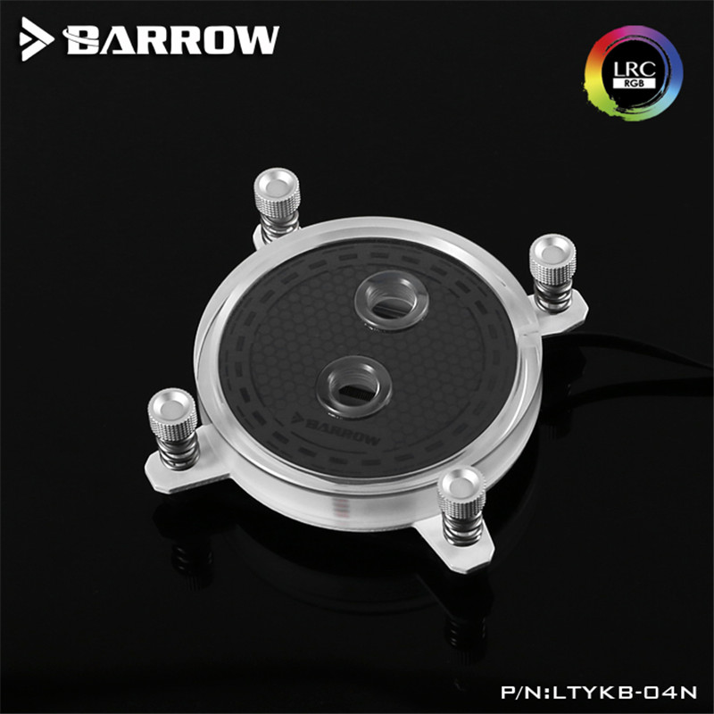 Barrow jet type microchannel CPU water cooling head Rays Edition For INTEL LGA-115X(1150 1151 1155 1156) CPU Water Block