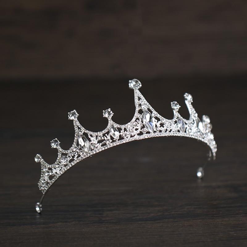 2018 Nova Handmade Nupcial Rhinestone Crown