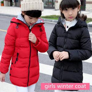 Image 3 - 2020 spring Winter jacket for girls clothes Cotton Padded Hooded Kids Coat Children clothing girl Parkas enfant Jackets & Coats