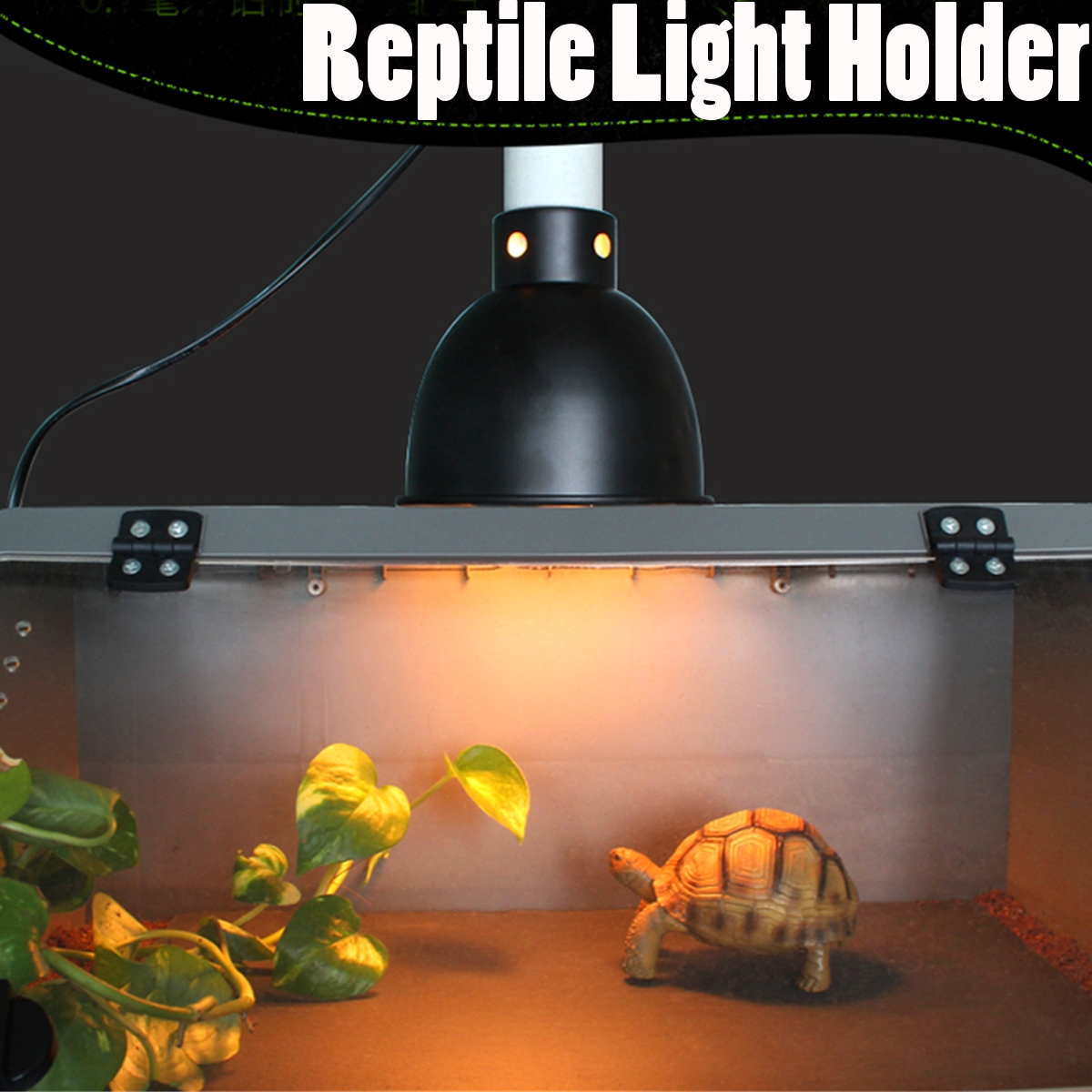 E27 ceramic heat uv uvb lamp light holder for aquarium amphibians e27 ceramic heat uv uvb lamp light holder for aquarium amphibians reptile tortoise lampshade with switch in lamp covers shades from lights lighting on arubaitofo Choice Image