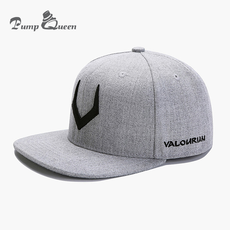 High Quality Grey Wool Snapback 3D Pierced Embroidery Hip Hop Cap Flat Bill Baseball Cap For Men And Women europe and the united states style men and women s i m a beliebers embroidery knitted wool beanies hat hip hop ski cap rx085