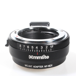 Commlite Auto-Focus Mount Adapter EF-NEX for Canon EF to Sony NEX Mou