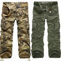 2018 Nuovi Uomini di Pantaloni Tattici Militari Uomini Uomo Camouflage Cargo Pants Uomo Tuta Pantaloni Casual di Grandi Dimensioni, Più 28 ~ 40 caldo