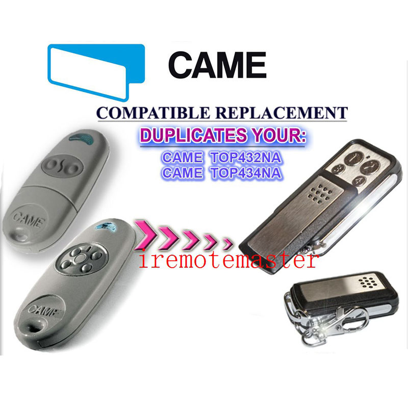 Copy CAME TOP 432NA Duplicator 433.92 mhz remote control TransmitterCopy CAME TOP 432NA Duplicator 433.92 mhz remote control Transmitter