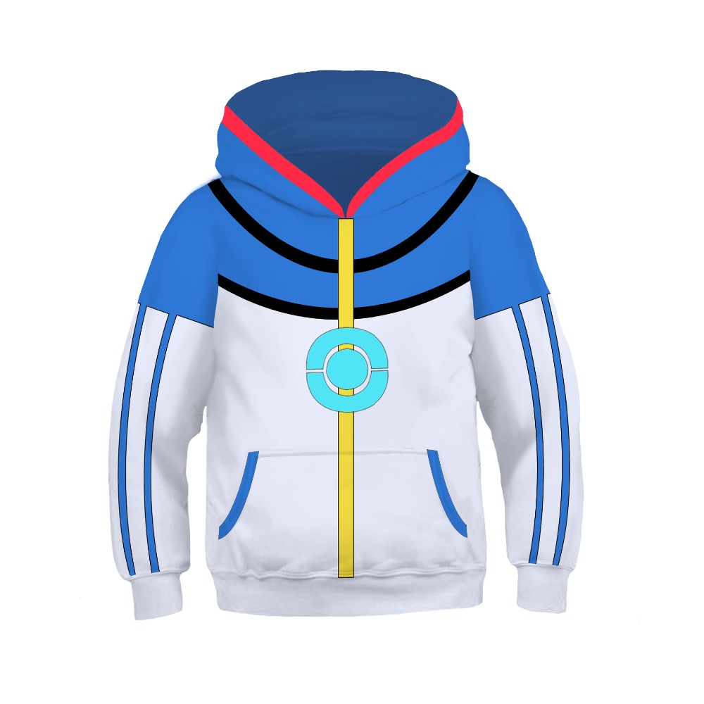 Children Halloween Anime Spiderman Captain America Cosplay Costume Boy Girl Cartoon Long Sleeve Jacket 3D Print Hoodie