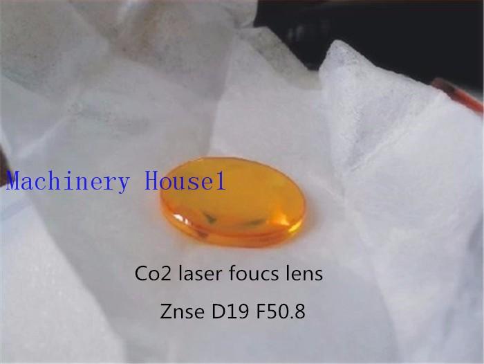 Купить Бесплатная Доставка CN ZnSe Со2 Laser Focus Диаметр Объектива 19 мм Фокусное расстояние 50.8 мм Для Co2 Лазерная Резка И гравировальный Станок дешево