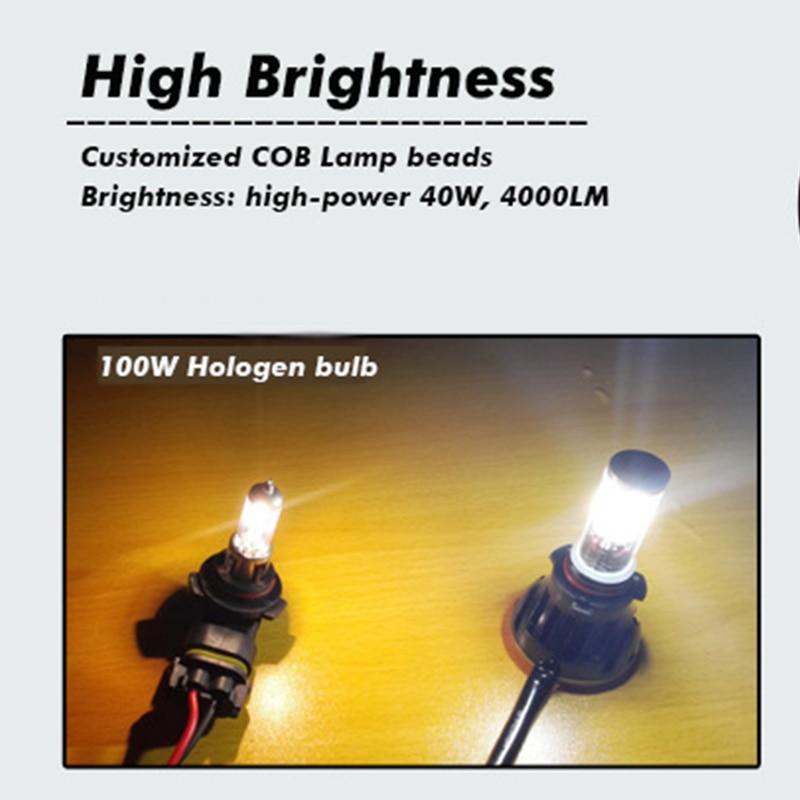 Avtomobilska lučka H7 vodila H4 H11 9005 9006 9007 HB3 HB4 H13 5202 - Avtomobilske luči - Fotografija 4