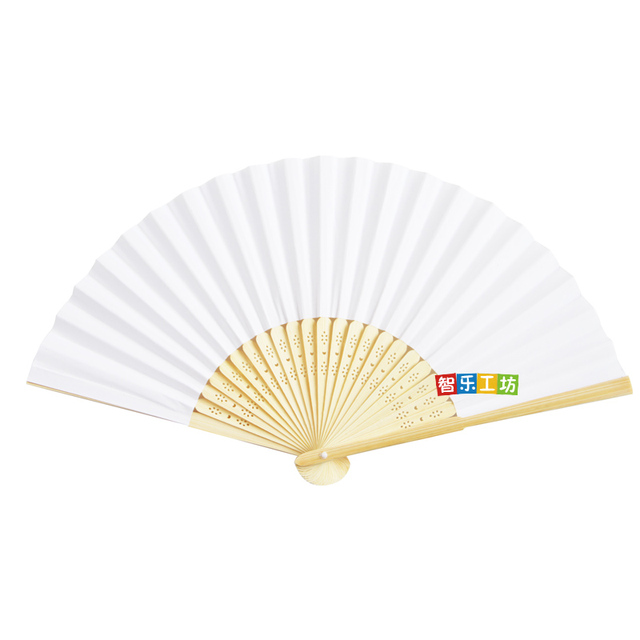 Hot Sale Chinese 721 Cm Origami Fan Pocket Folding Hand Held Outdoor