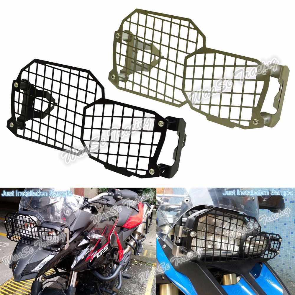 Motorcycle Headlight Grille Guard Cover Protector For BMW F650GS F700GS F800R F800GS / ADV areyourshop sale rear abs sensor protective guard cover fit for bmw f800gs adv f700gs f650gs twin
