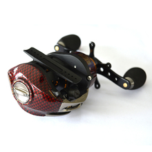 Promote Baitcasting Reel 18 Ball Bearings Left Hand Right Hand Bait Casting Fishing Reels Coil Gear Pesca 6.3:1 Baitcast Reeling