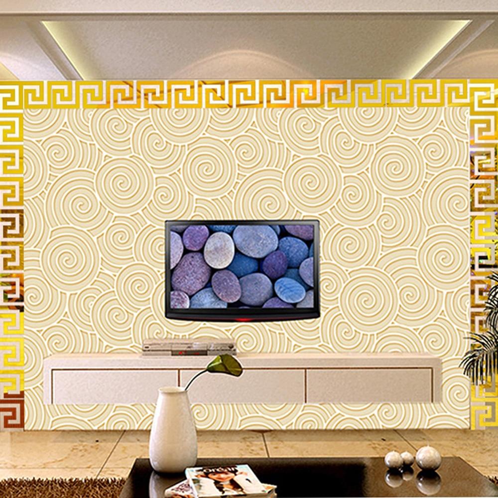 10 pcs Home Decor Puzzle Labyrinth wall art Acrylic Mirror Wall ...