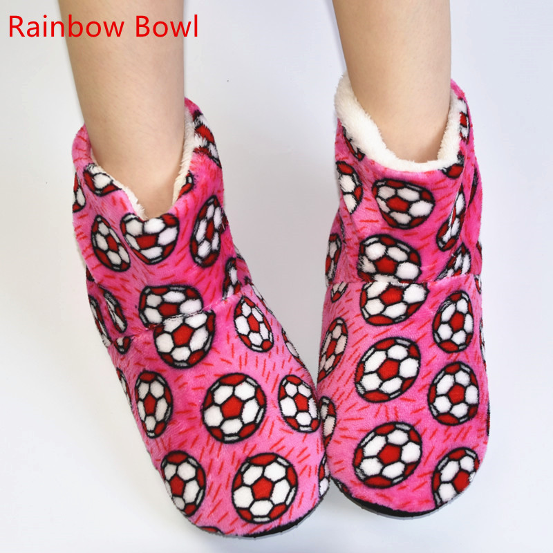 Rainbow Bowl Free Shipping New Winter Warm Plush Home Lady's Platform Shoes Slipper Women Soft Bottom  Household Indoor Slipper foster big bowl soft 873x513 1l