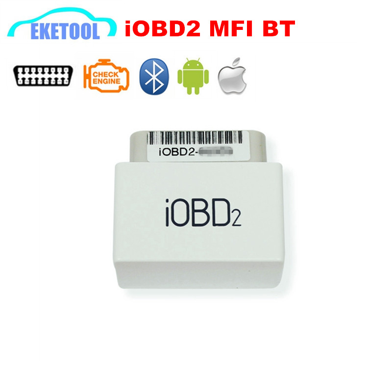 Latest Version XTool iOBD2 MFi BT Version Works iOS/Android Connection via Bluetooth Works Car After 1996 iOBD2 MINI Scan