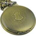 Full Hunter Steampunk Pocket Watch New Design Luxury Brand Fashion Skeleton Watches Hand Wind Mechanical Pocket Watch