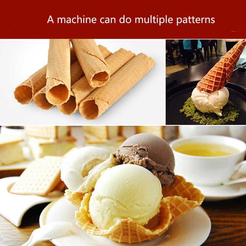 factory ice cream cone machine