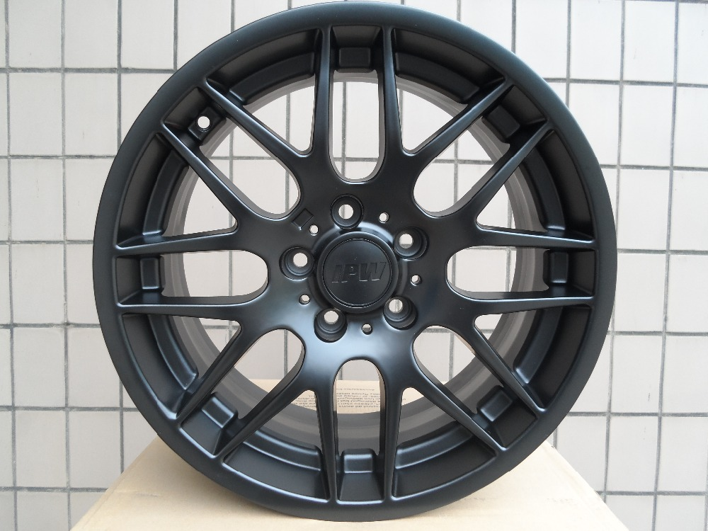 18 Quot Black Csl M3 Style Rims Wheels For Bmw 5 Series Awd