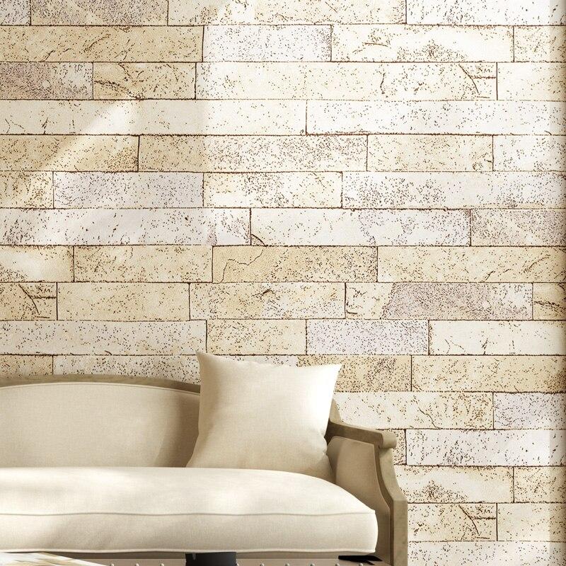 Купить с кэшбэком PAYSOTA 3D Brick Wallpaper Antique Brick Wallpaper Traditional Chinese style Nostalgic Restaurant Hotel Vintage Wallpaper Roll