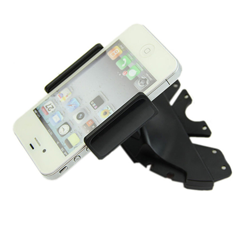 Universal Car CD Player Slot Mount Cradle Holder For iPhone Mobile Phone GPS Bicycle Car Holder for All Moblie Phone