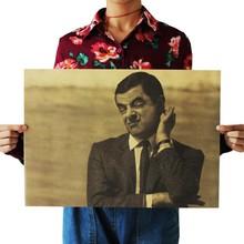 Ретро постеры Mr Bean винтажный декоративный Рисунок для бара домашний Декор стены плакаты журнал Ретро плакаты и принты Decorativos