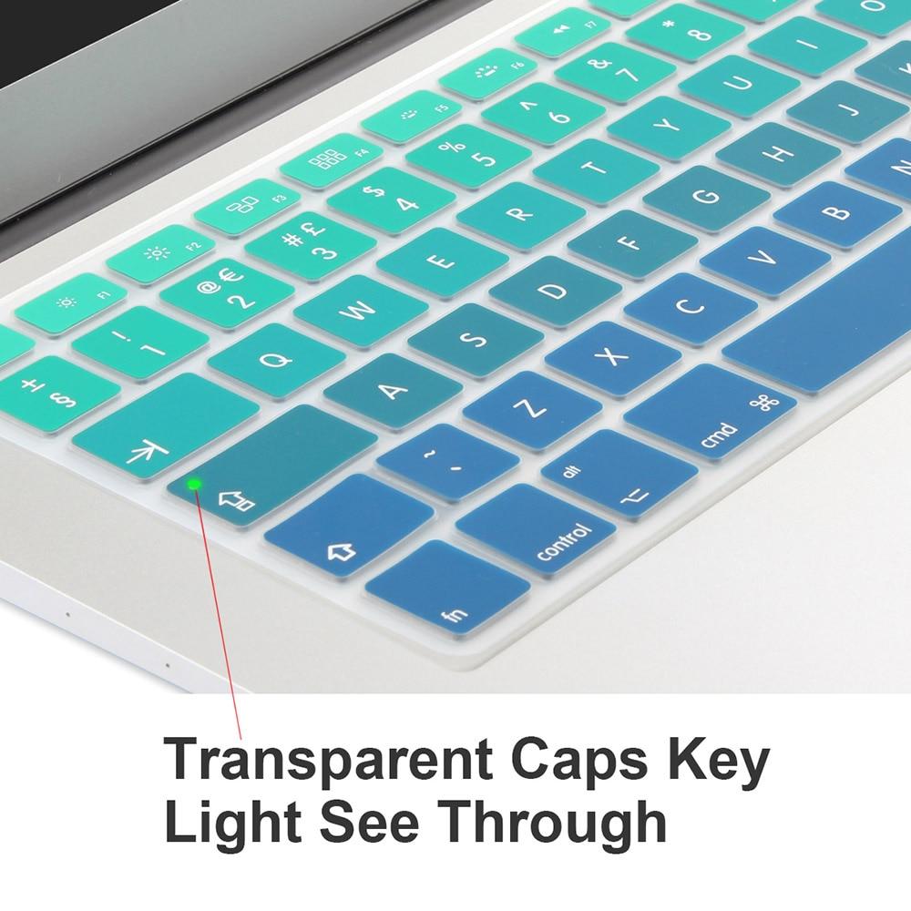UE Reino Unido Entra en inglés Diseño de degradado de colores - Accesorios para laptop - foto 4