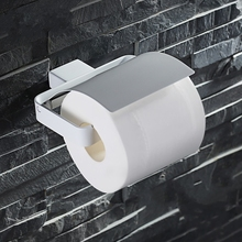 Высокое качество 304 нержавеющей стали держатель туалетной бумаги мода держатель рулона, Белый