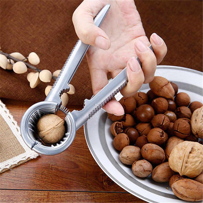 เครื่องมือยอดนิยม Crack อัลมอนด์วอลนัท Pecan Hazelnut Hazel Filbert Nut ครัว Nutcracker Sheller เครื่องมือคลิป Clamp Plier Cracker