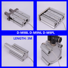 10Pcs/lot Solid  State Auto Switch Direct Mounting Type D-M9B D-M9N D-M9P D-M9BL D-M9NL D-M9PL Magnetic Senson  For Air Cylinder d