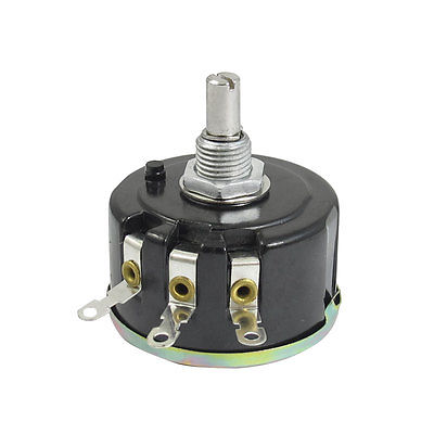 WX050 WX112 6mm Shaft Single Turn Wire Wound Rotary Potentiometer 1K/2K2/3K3/4K7/5K1/5K6/6K8/10K/22K/47K ohm 5W 10x 5w watt 2r2 2 2 ohm 5